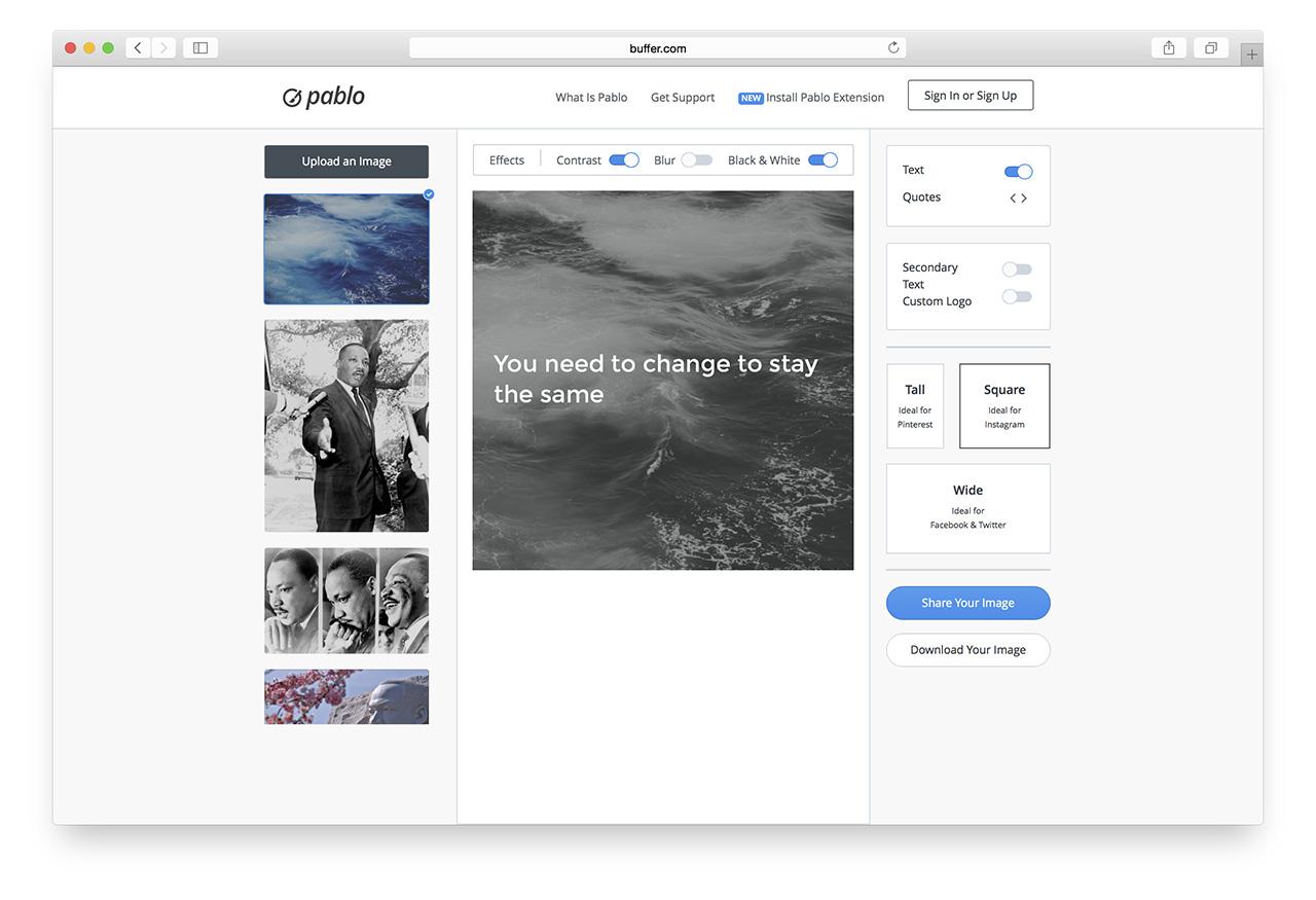 Как сделать фото в инстаграме одного размера