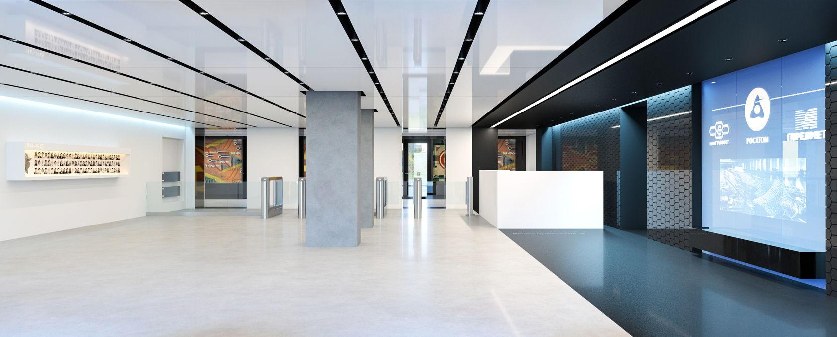 Дизайн рабочего пространства росатом