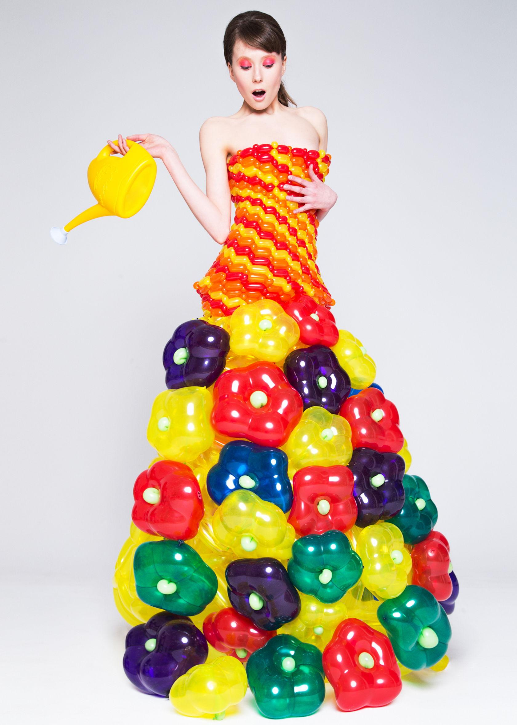 Костюм из шариков