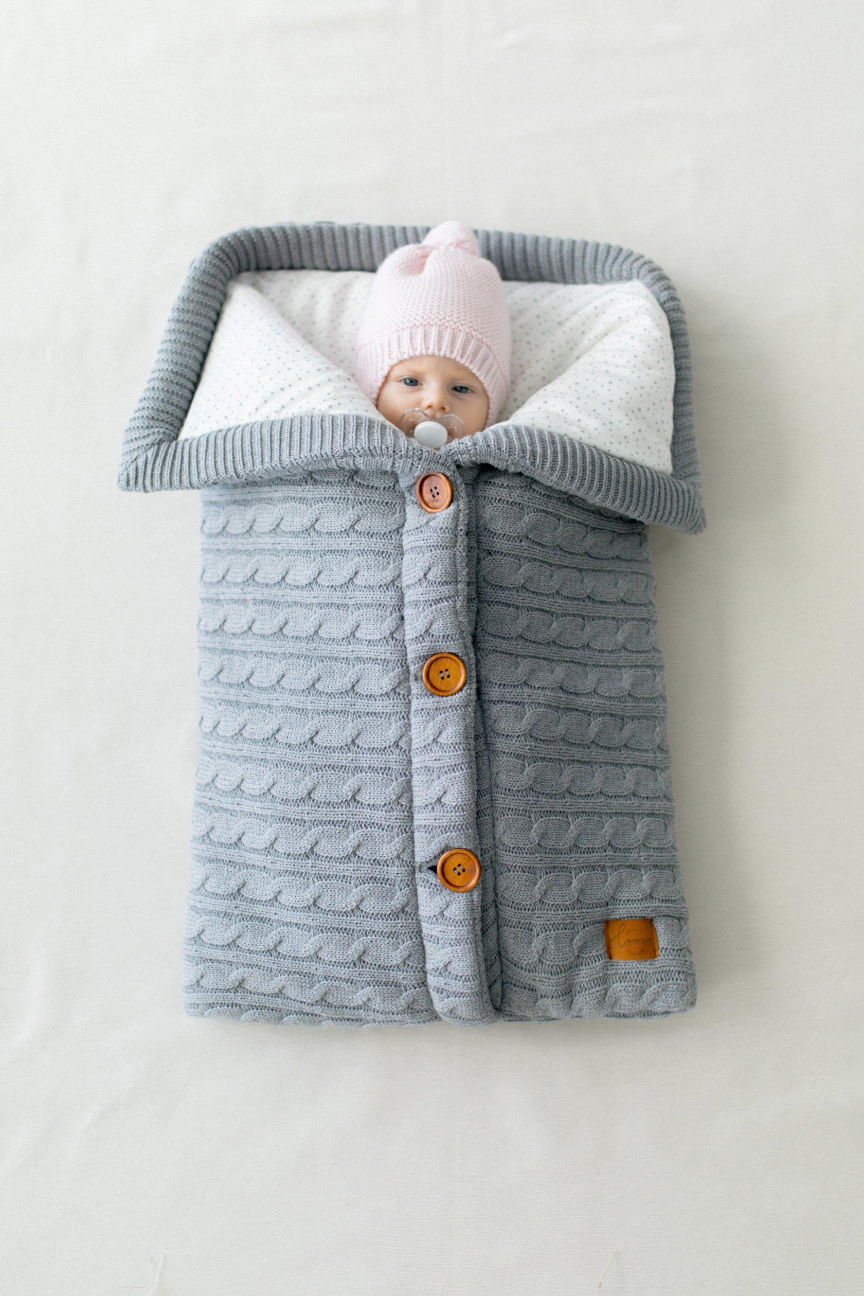Конверт для новорожденного своими руками вязаный