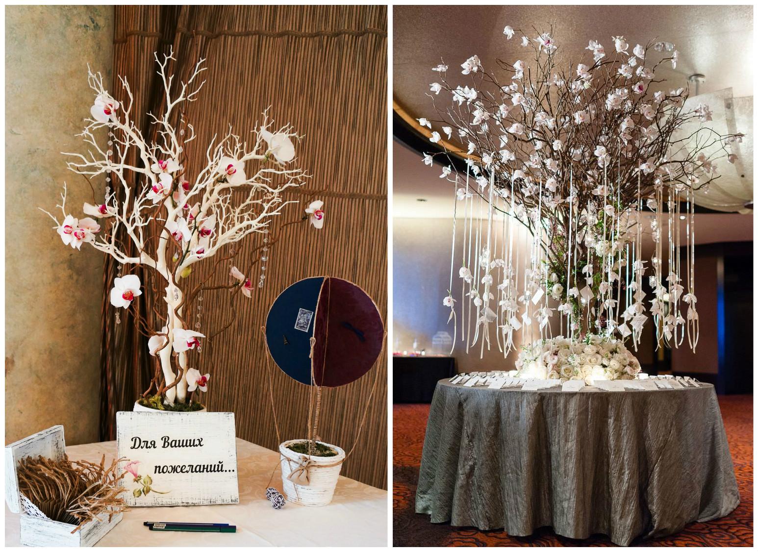 На какое дерево на свадьбу своими руками