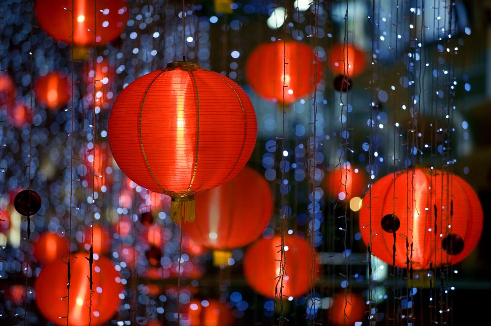 Китайские фонарики на новый год своими руками