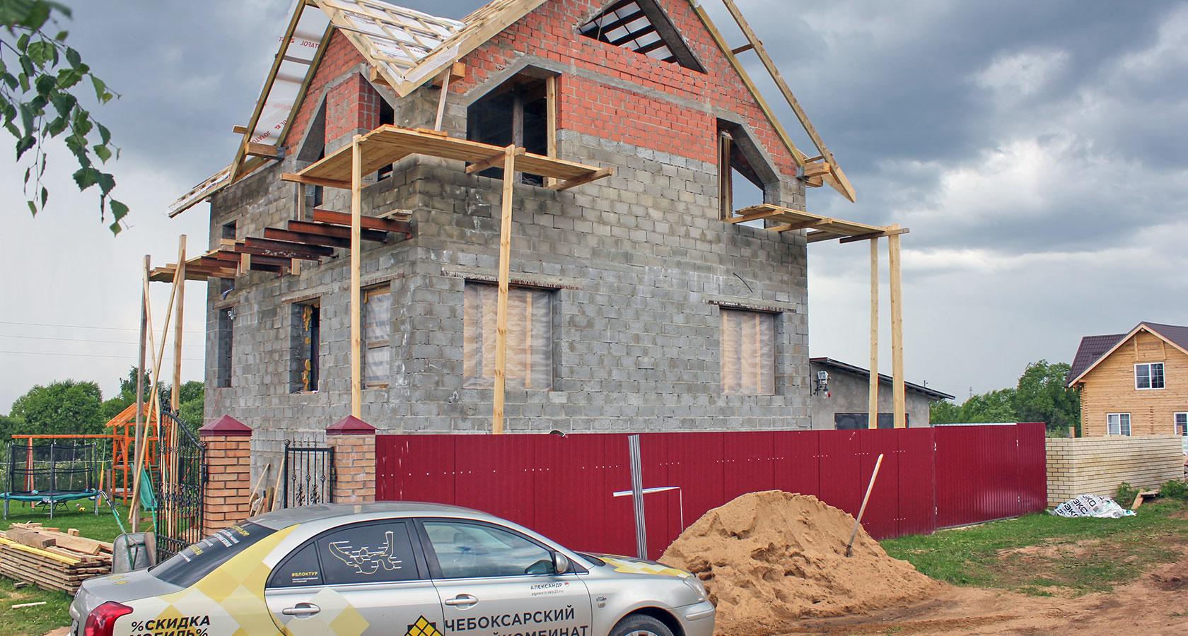 Дом из керамзитобетона своими руками - как построить 58