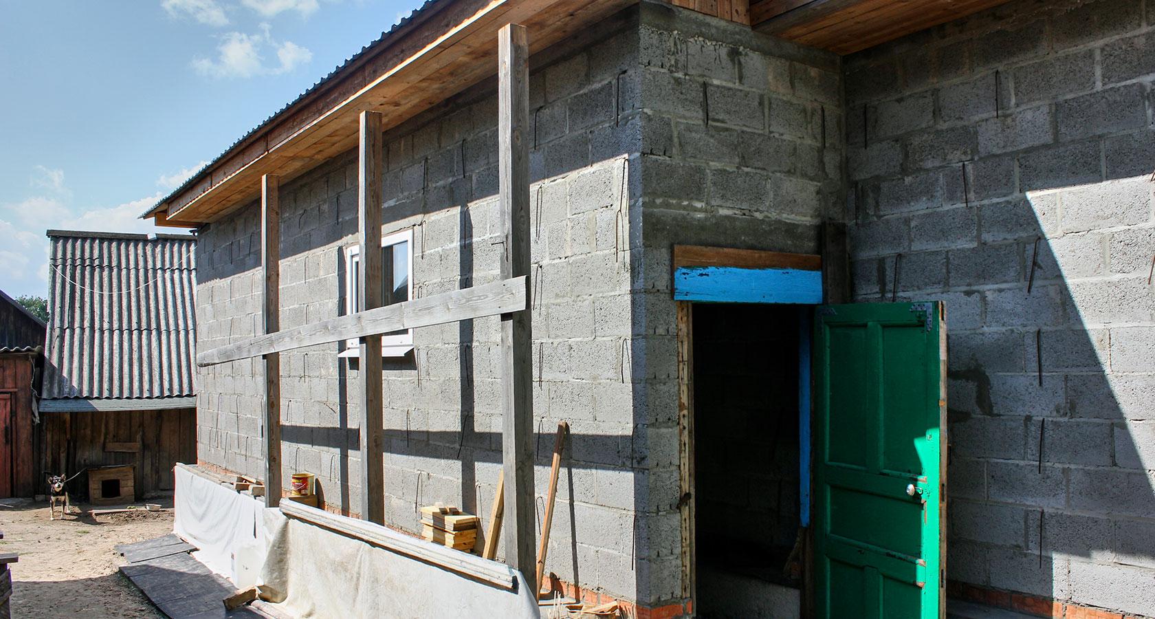 Дом из керамзитобетона своими руками - как построить 45