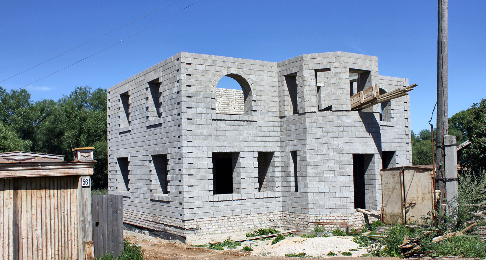Керамзитные дома 35
