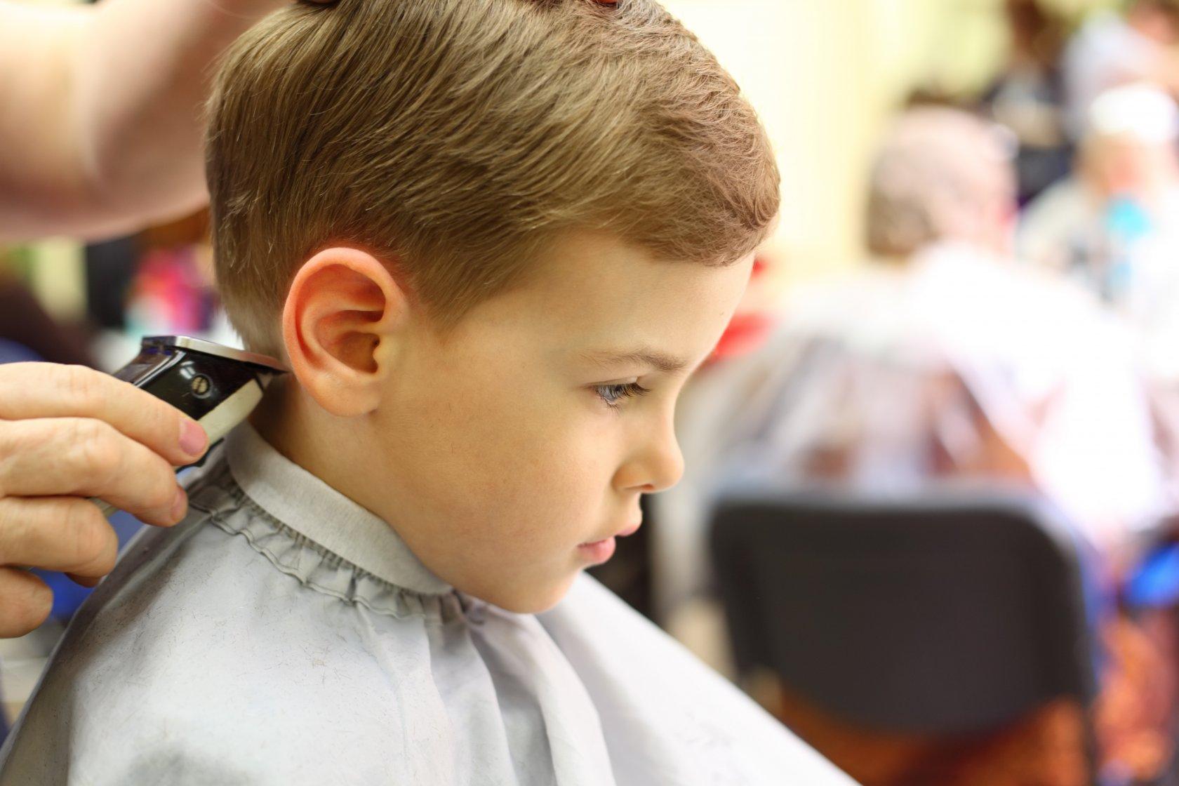 Подстричь ребенка самой фото