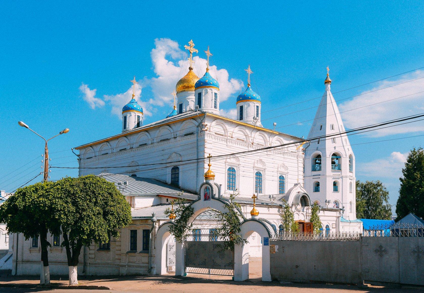 Иконостас введенского собора в сольвычегодске