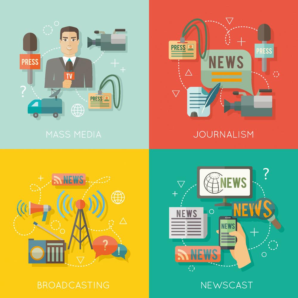 Infographic news media