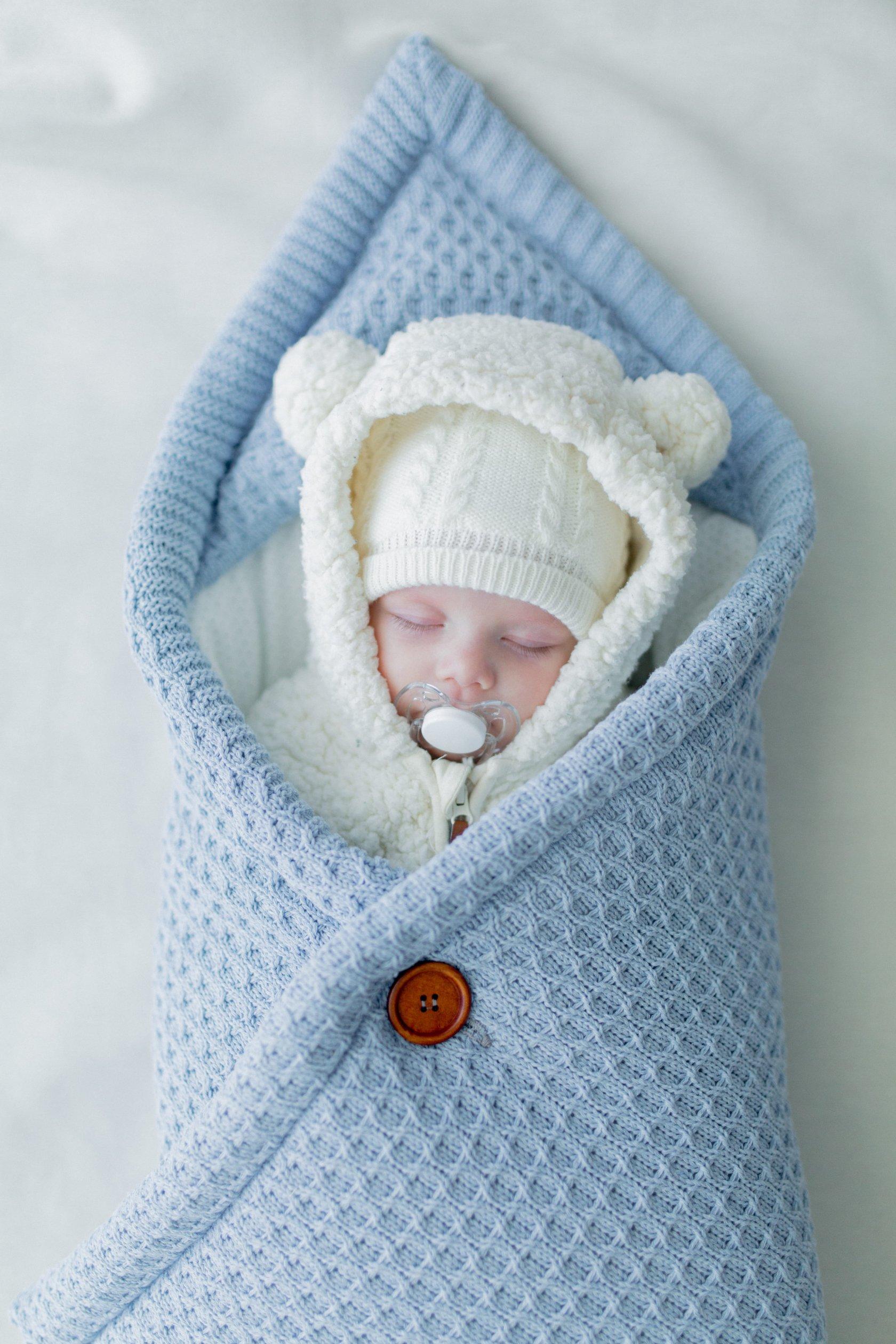 Вязание для младенцев конвертов