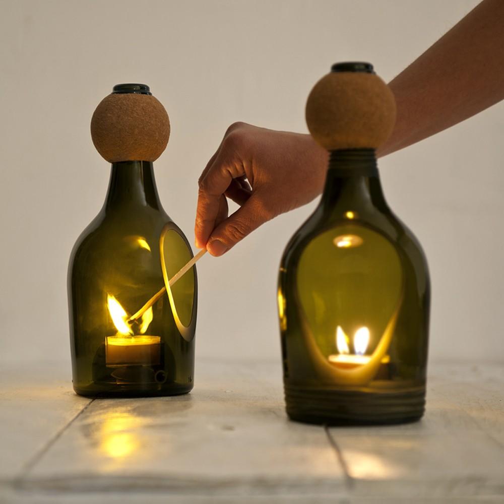 113 идей для поделок из стеклянных бутылок своими руками на фото 39