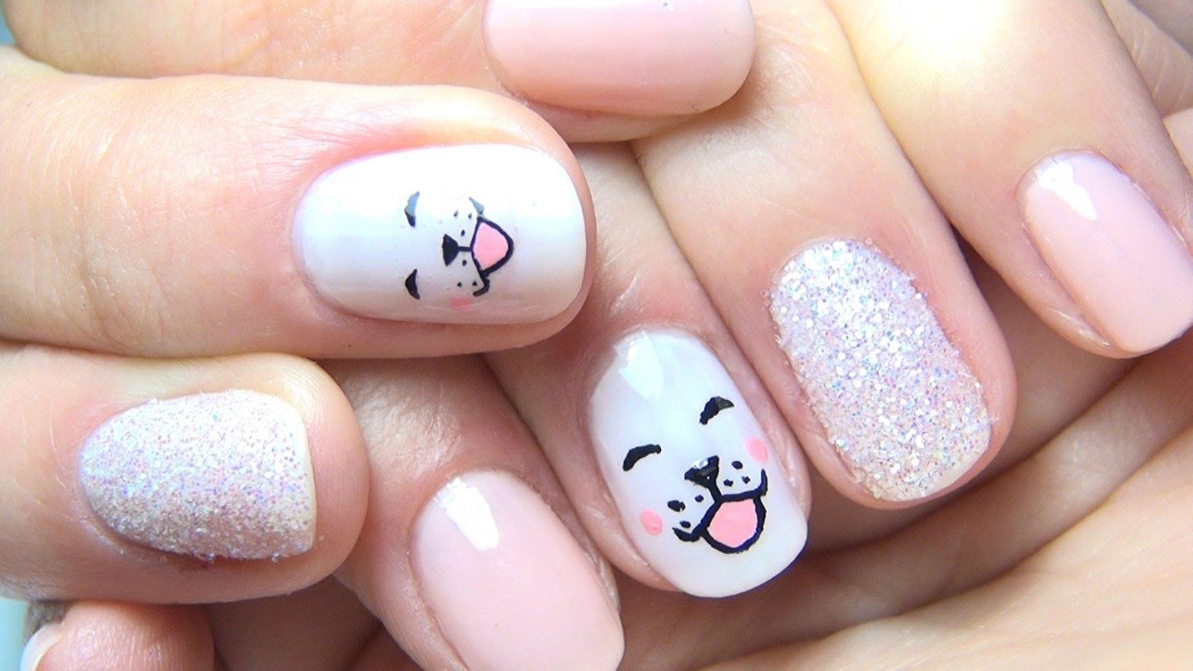 Фото ногтей для девочки 13 лет