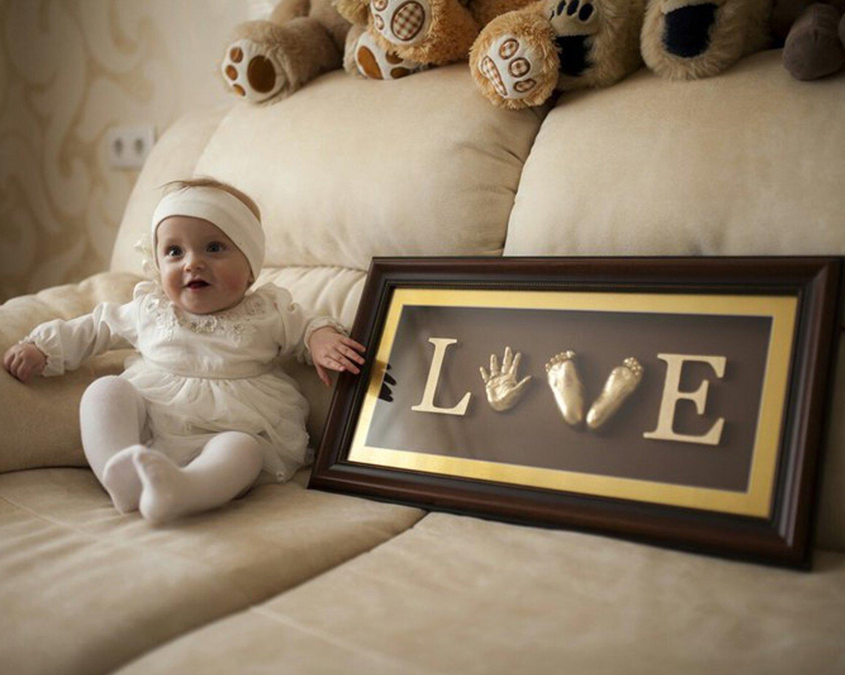 Идеи фото с ребенком в рамках