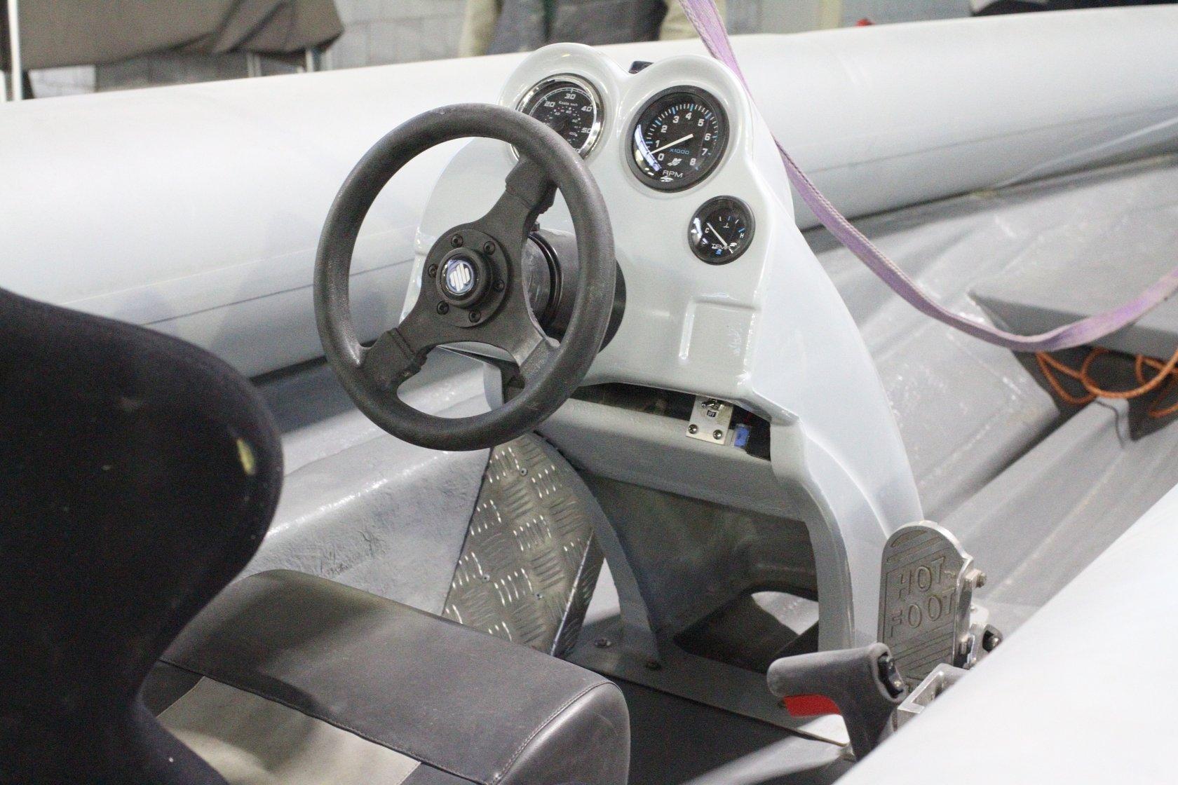 Рулевые консоли для лодок своими руками 454