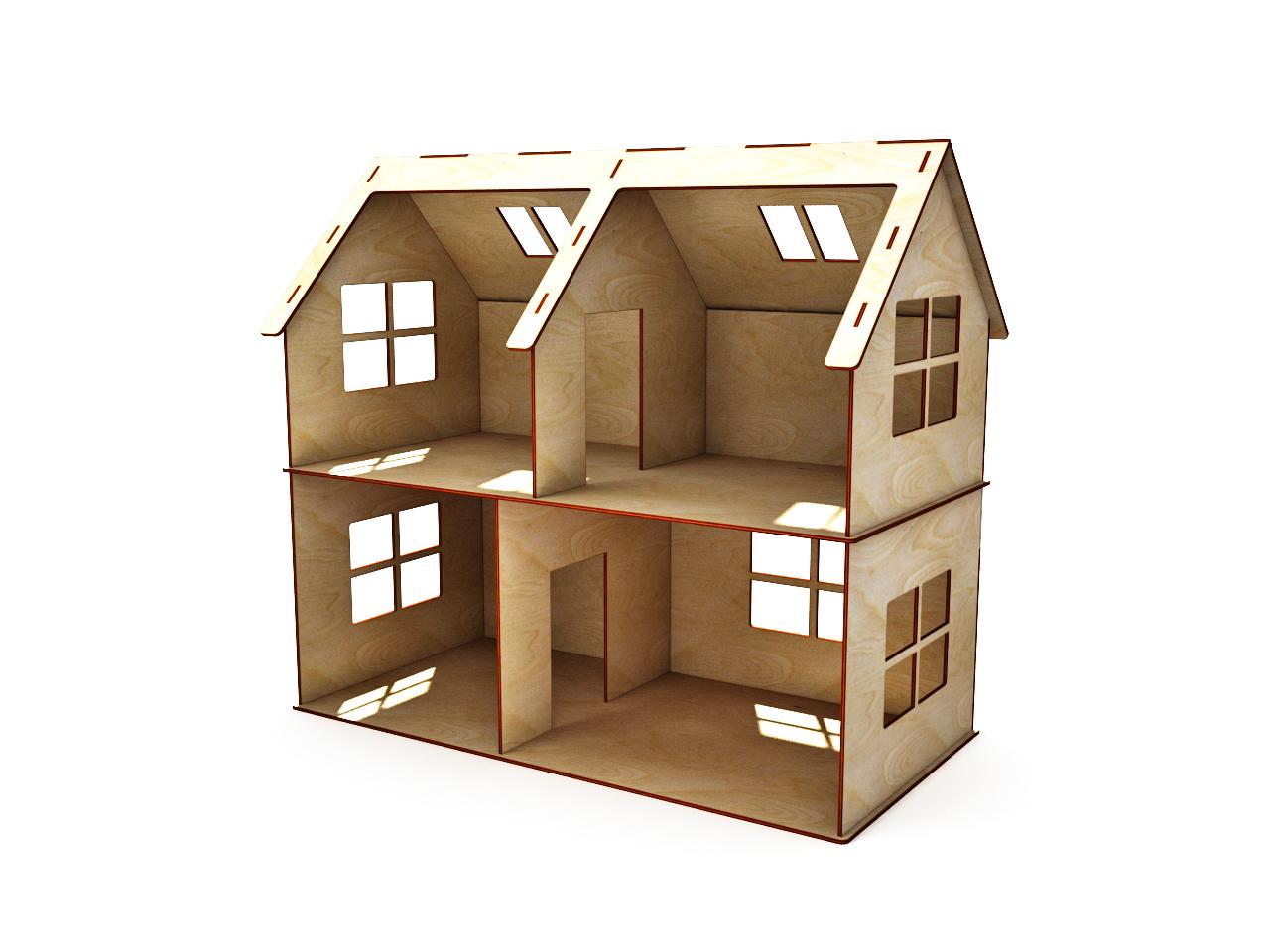 Кукольный домик своими руками из фанеры схема : с размерами чертеж для 85