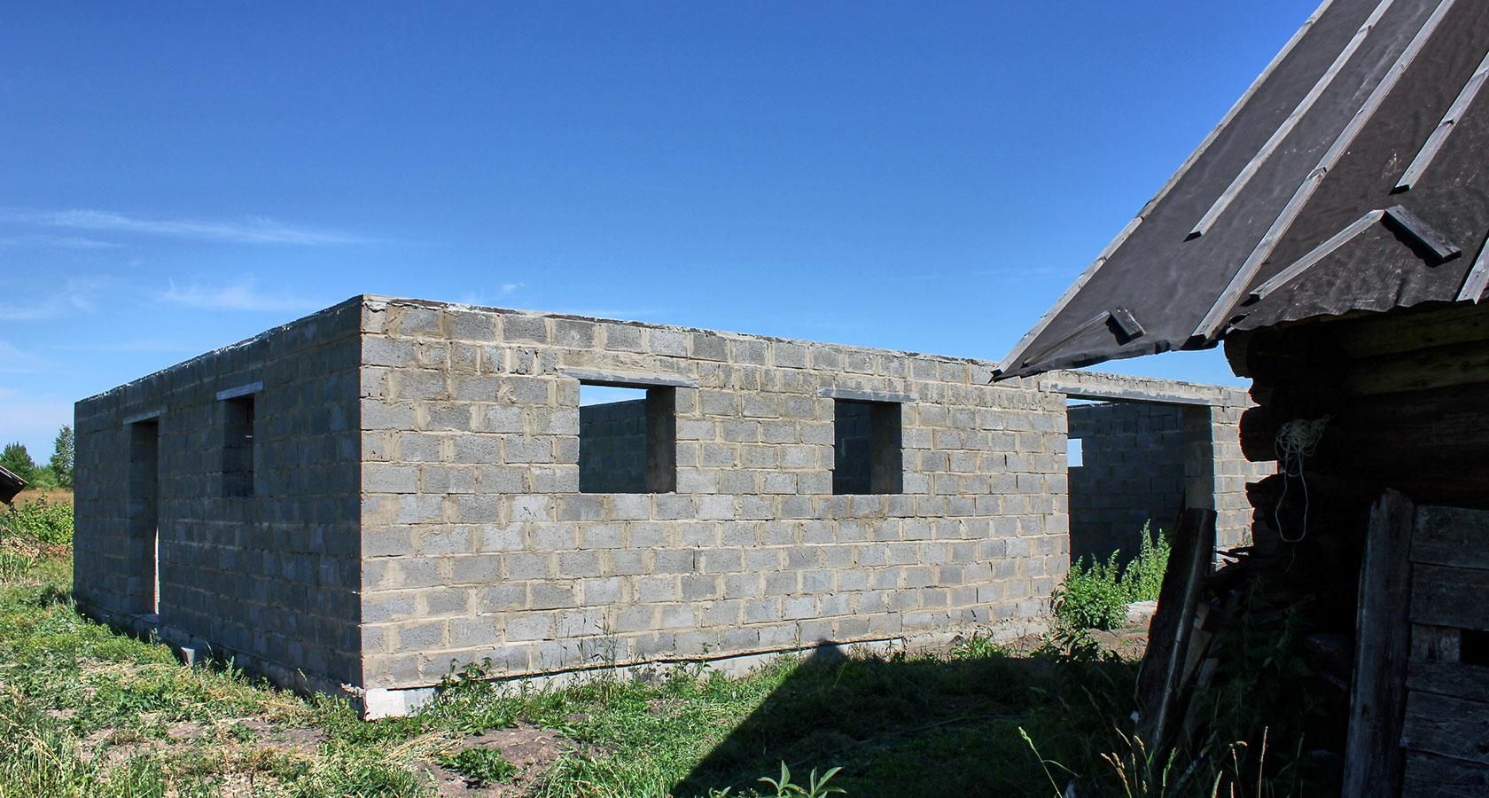Дом из керамзитобетона своими руками - как построить 38
