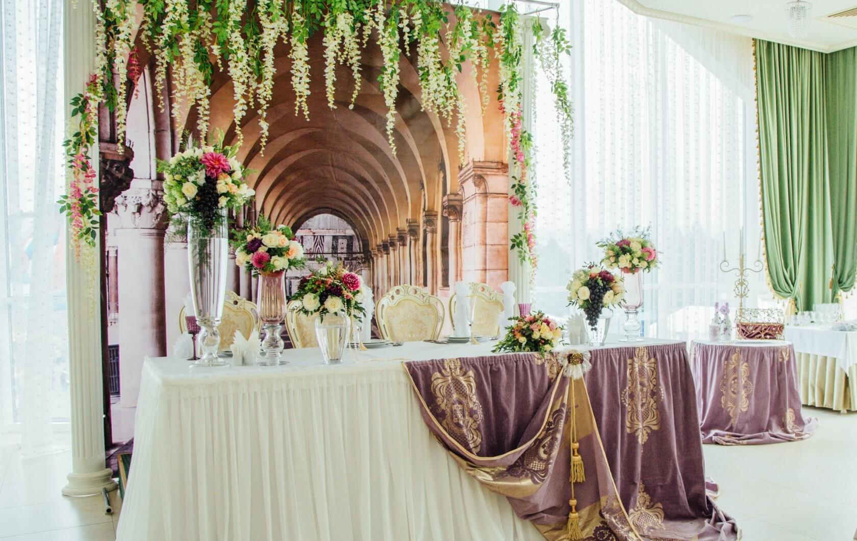 Президиумы на свадьбу