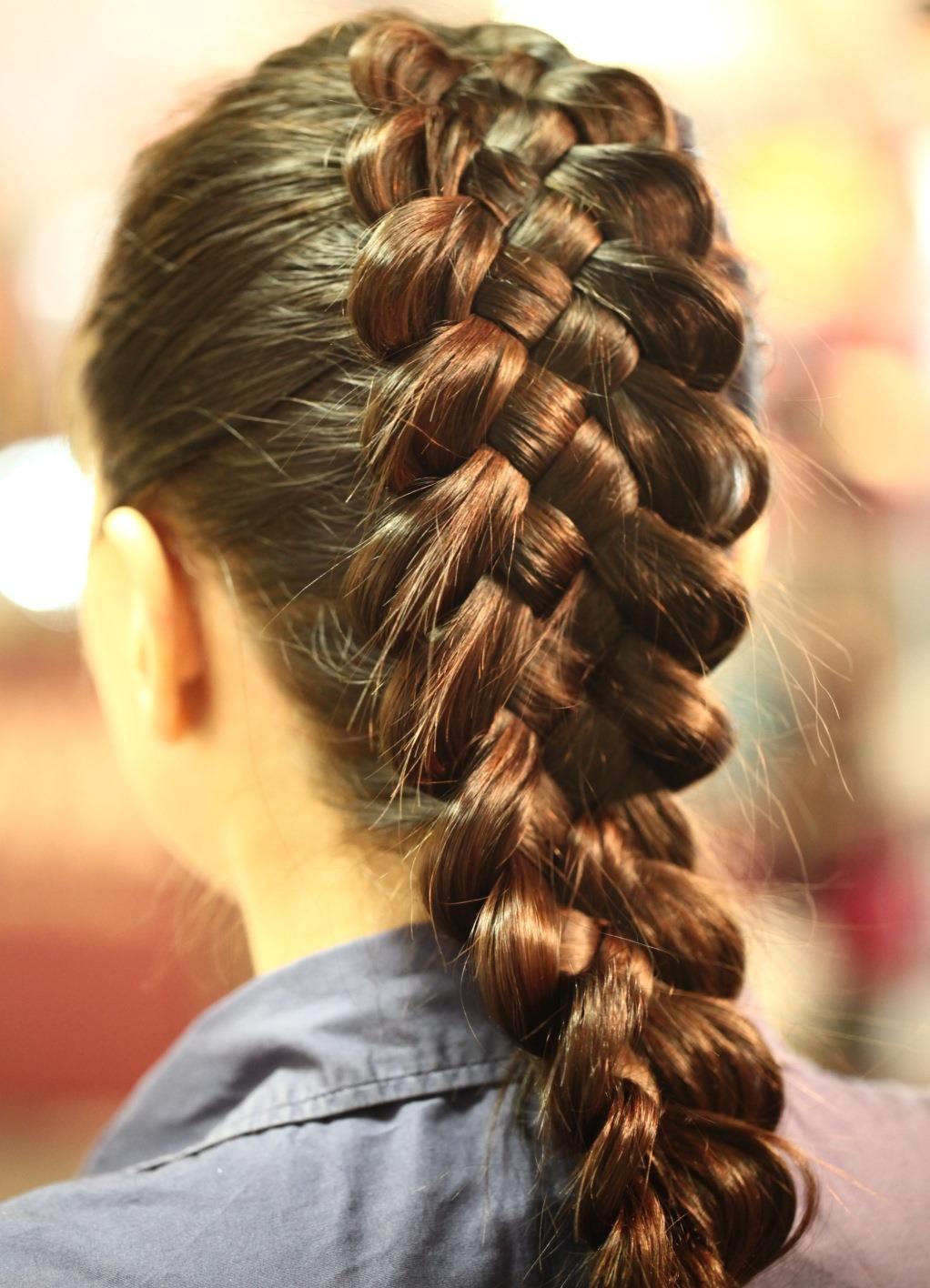 Фото плетение косичек и причёски