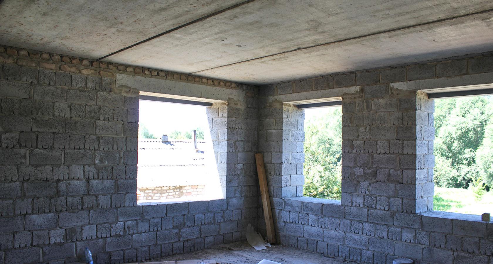Дом из керамзитных блоков своими руками пошаговая инструкция