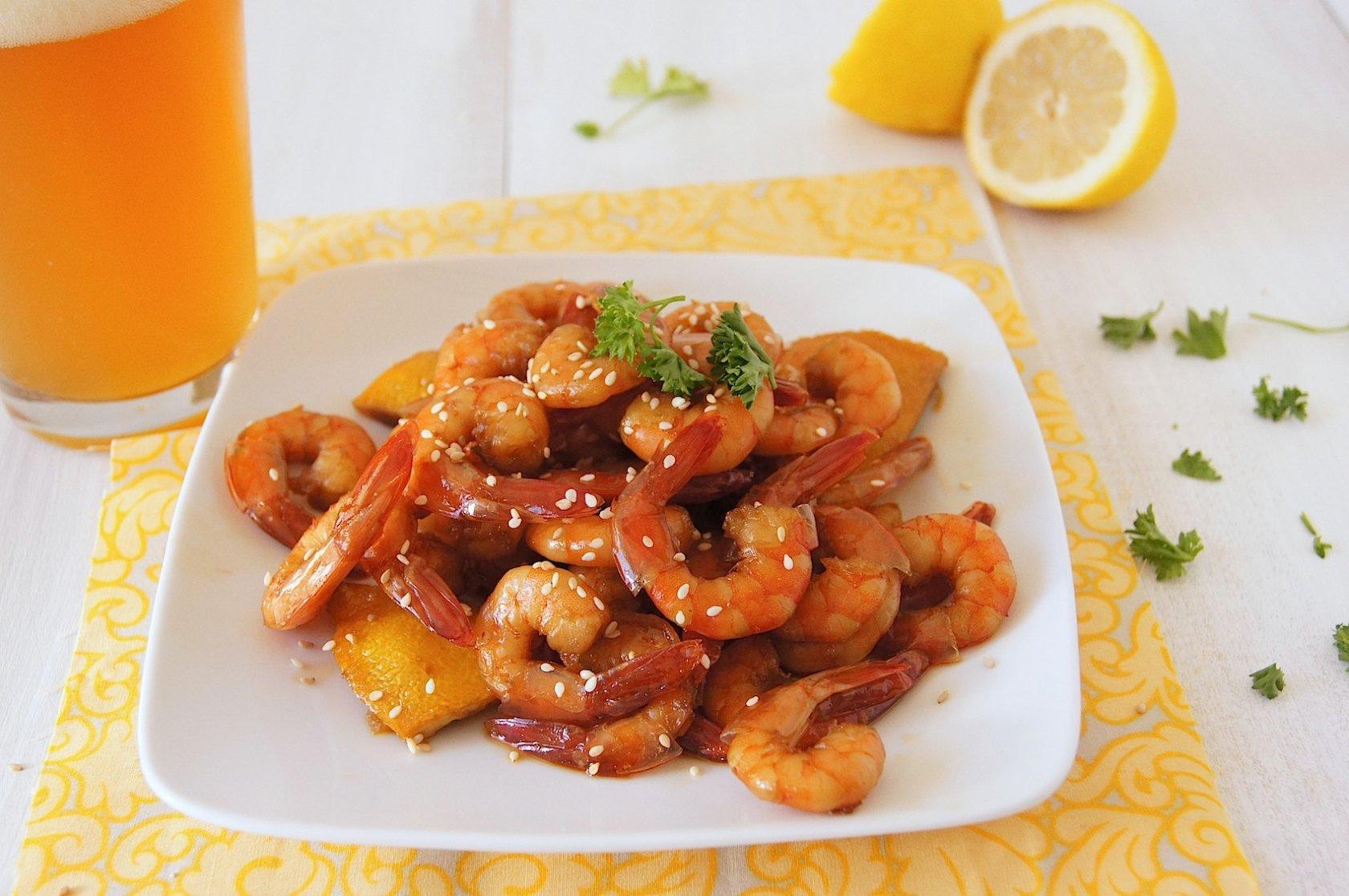 Вкусные креветки к пиву рецепт пошагово
