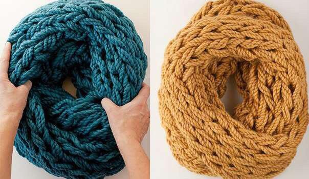 Вязание шарфа снуда своими руками