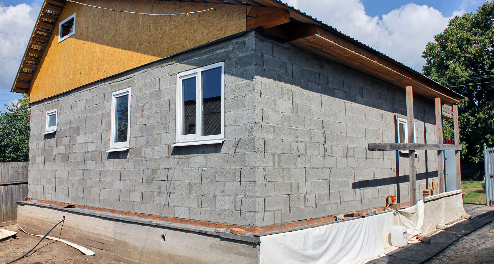 Дом из керамзитобетона своими руками - как построить