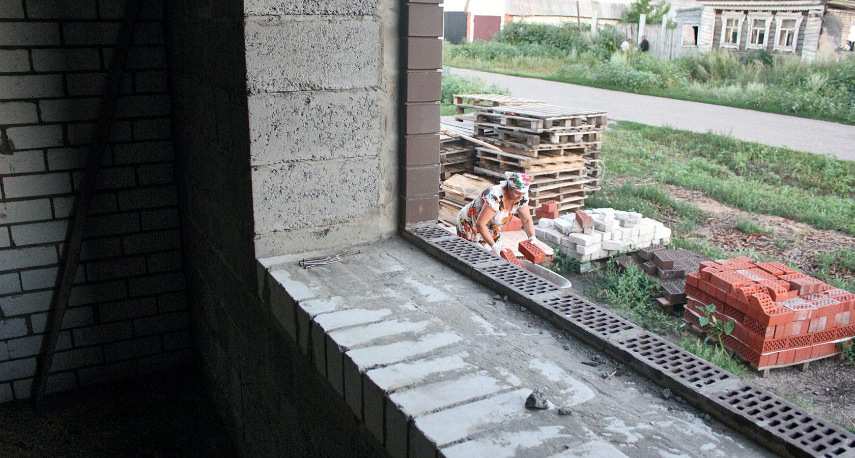 Дом из керамзитобетона своими руками - как построить 70