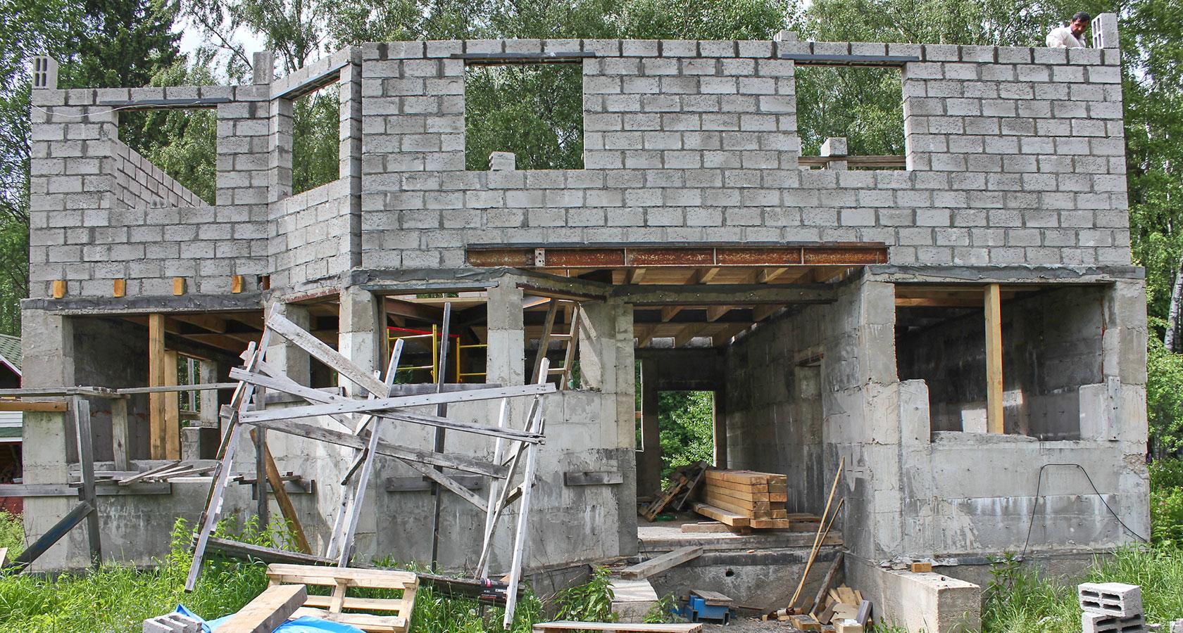 Дом из керамзитобетона своими руками - как построить 33
