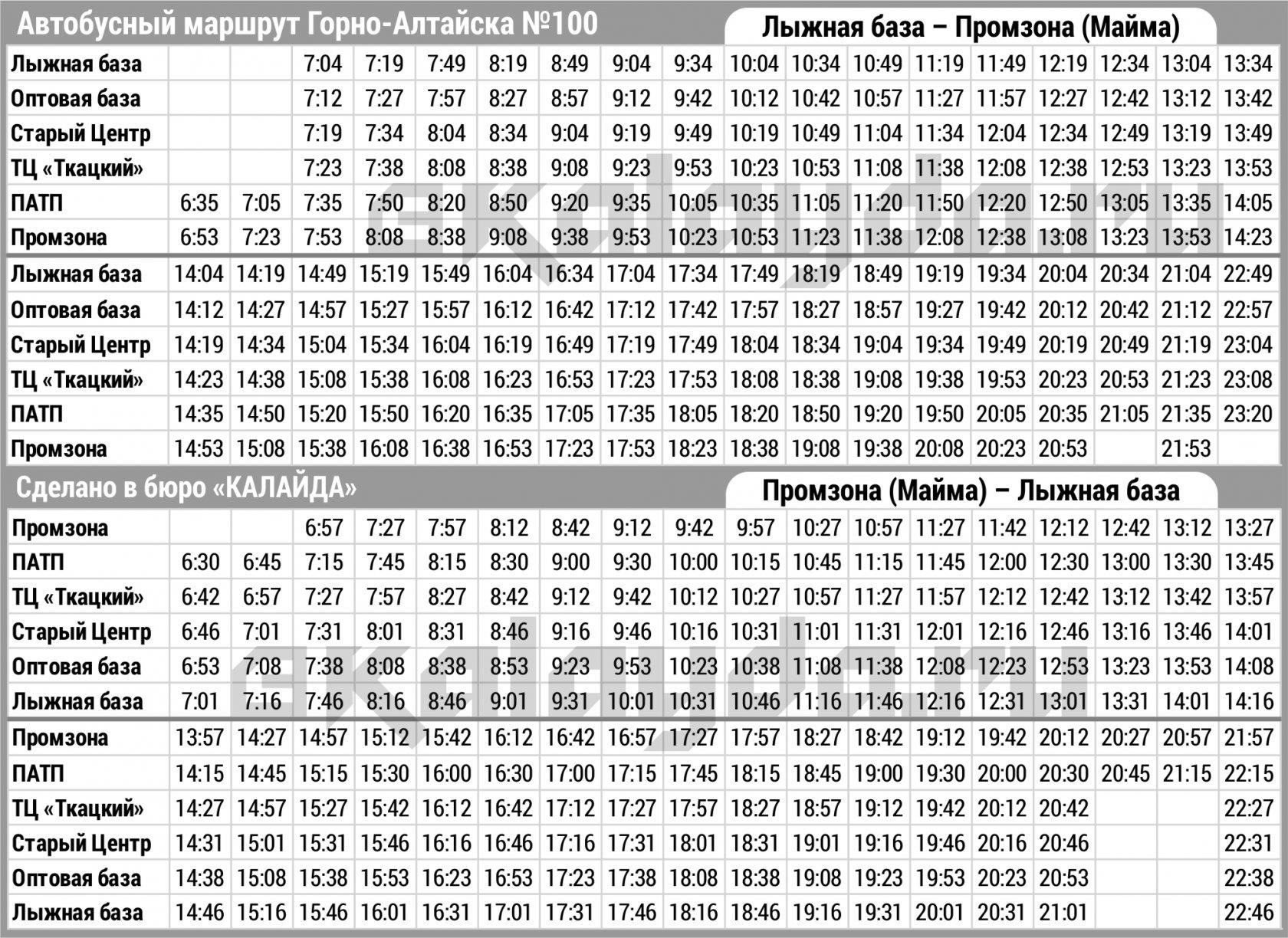 Расписание горно алтайский вокзал