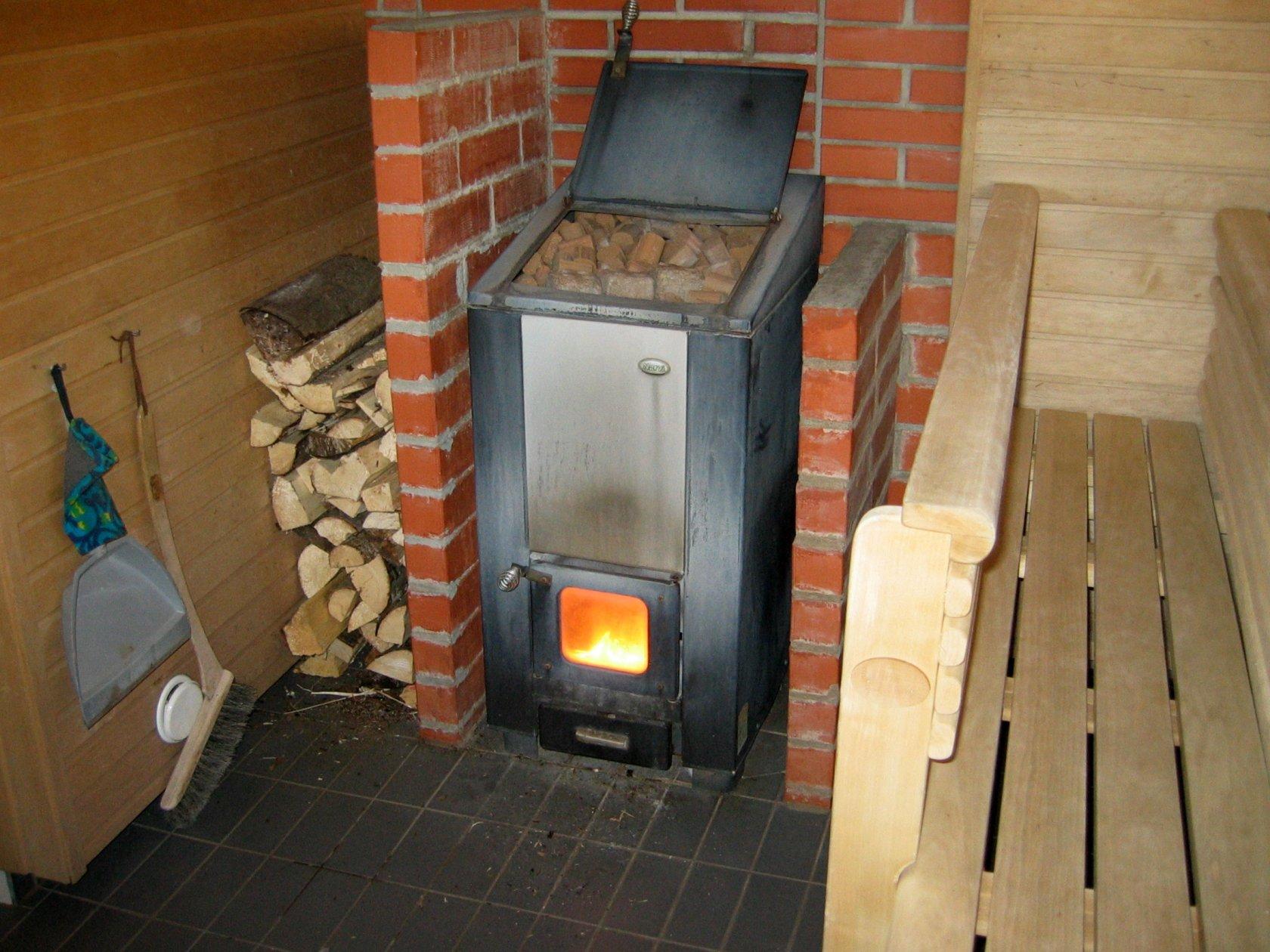 Железная печь для обогрева дома своими руками