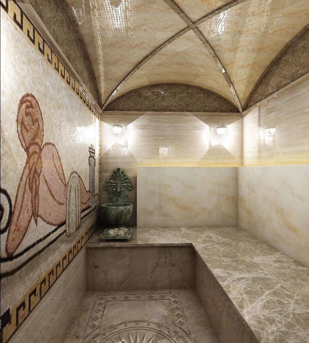 Турецкие бани хамам своими руками