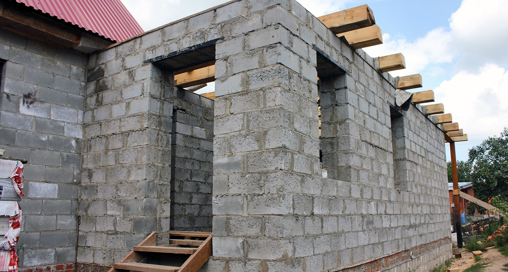Дом из керамзитобетона своими руками - как построить 65