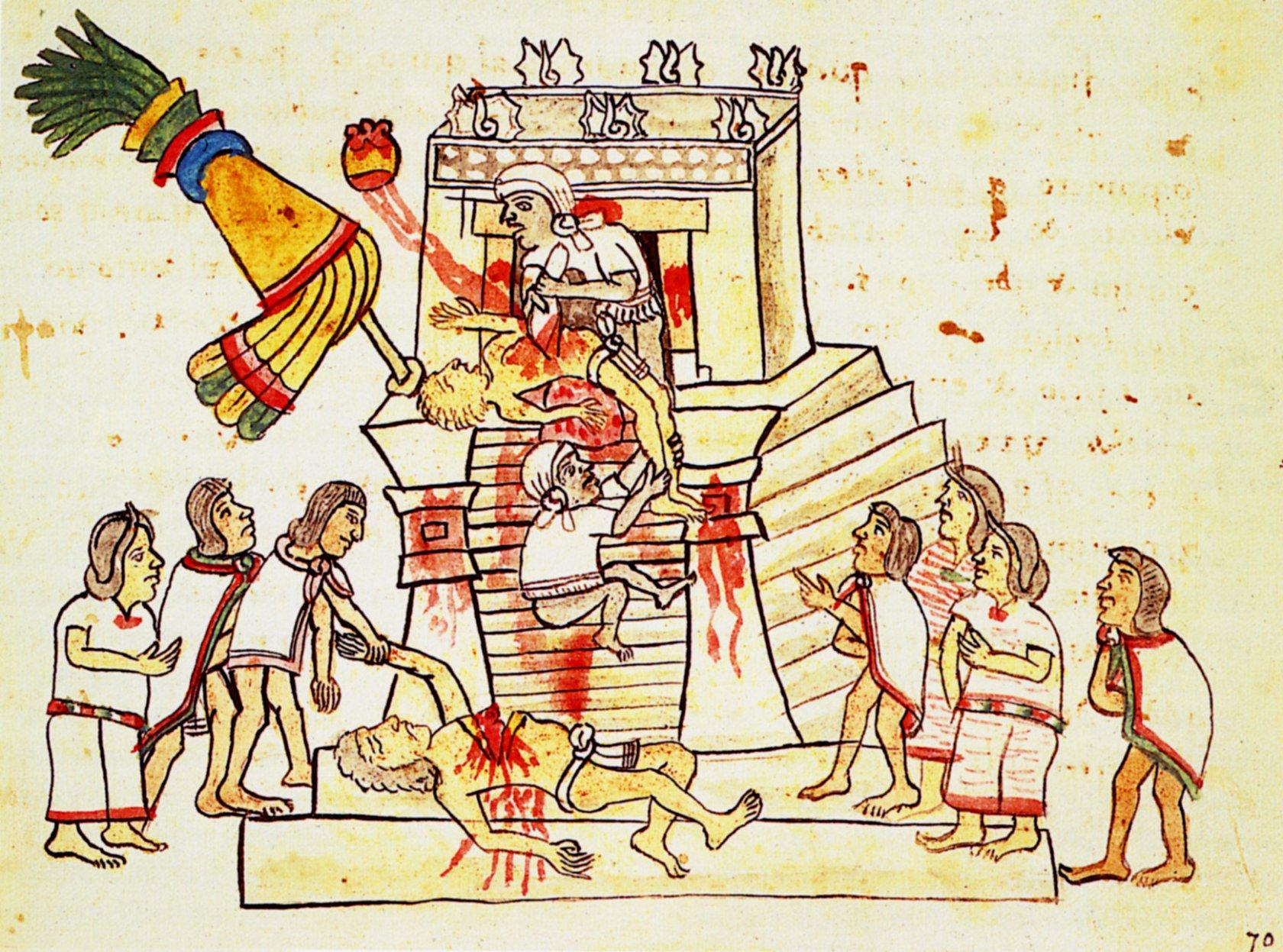 Aztec sacrifice girl porn video