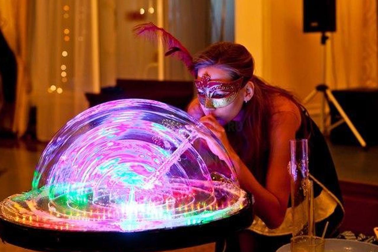 Как сделать шоу мыльных пузырей в домашних условиях 4