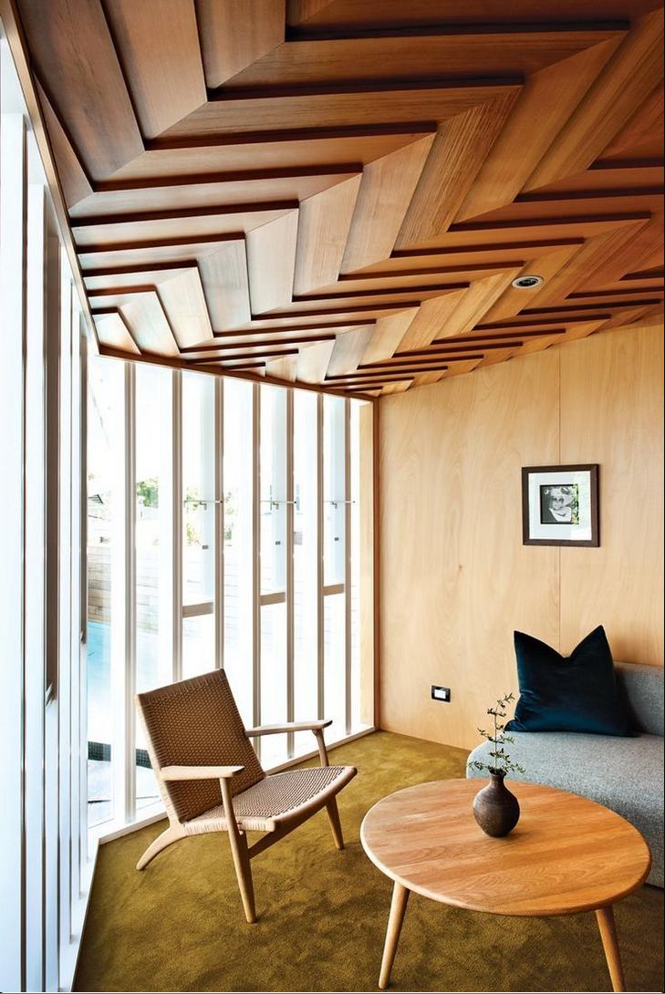 Идеи для деревянного потолка фото