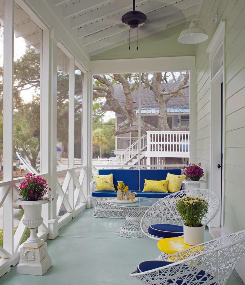 Дизайн интерьера террасы фото
