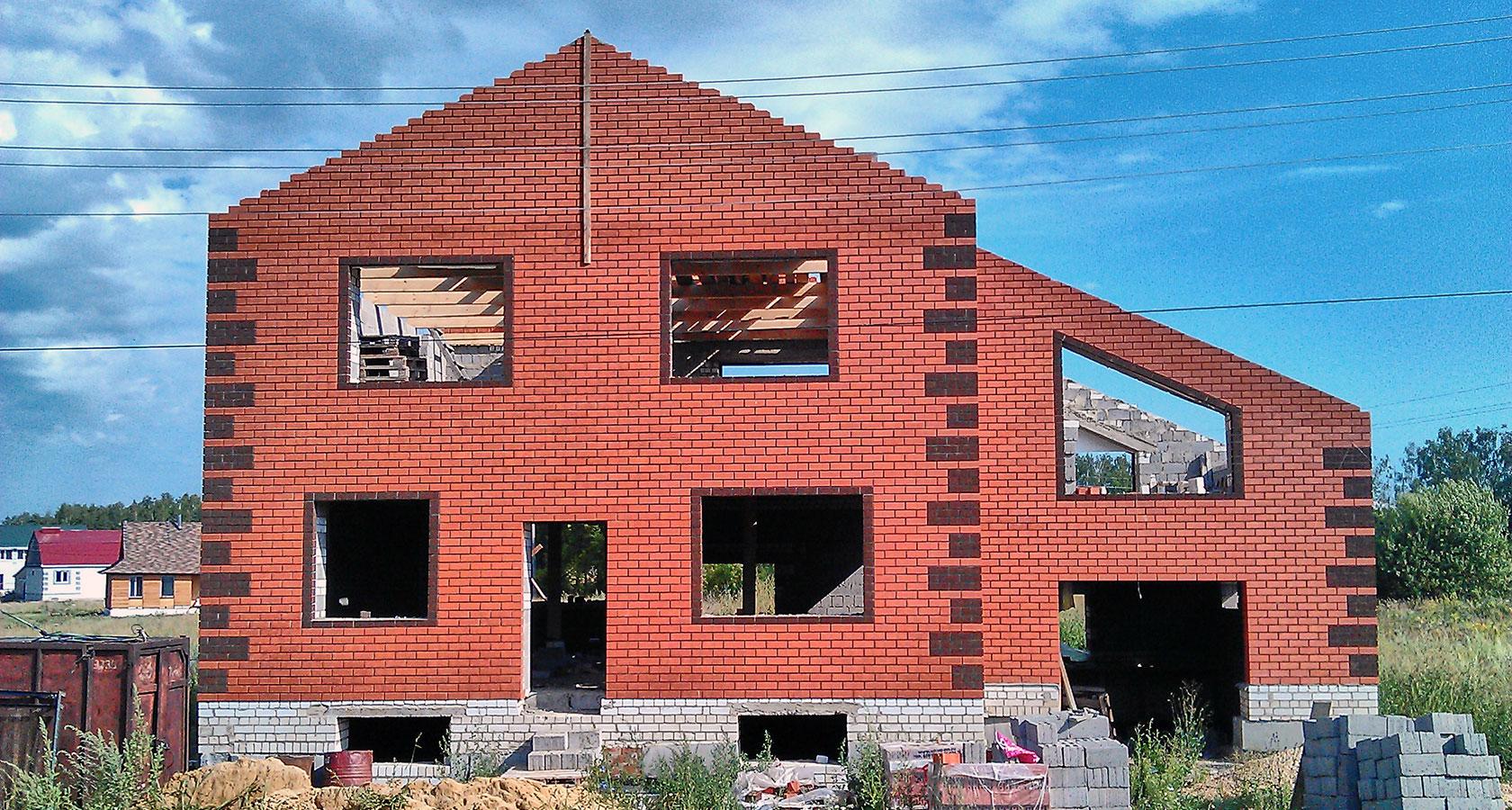 Дом из керамзитобетона своими руками - как построить 84