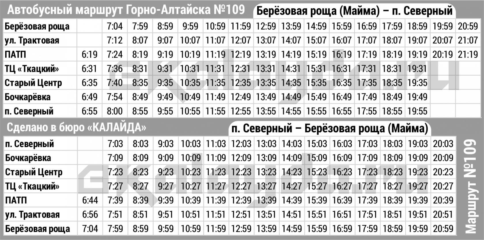 Расписание движения междугородних автобусов город