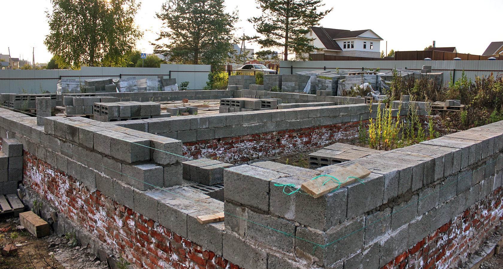 Фундамент для керамзитобетонного дома своими руками 701