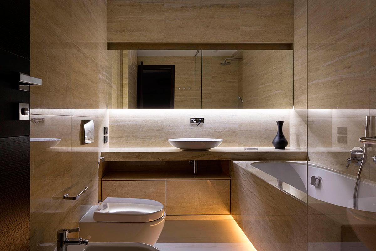 Туалет дизайн в современном стиле