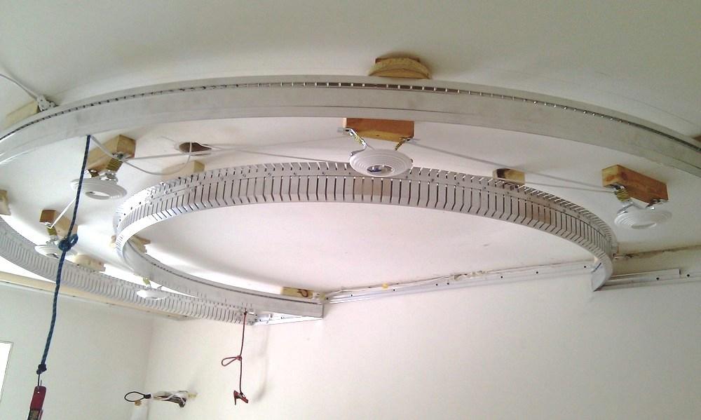 Как сделать натяжной потолок многоуровневый