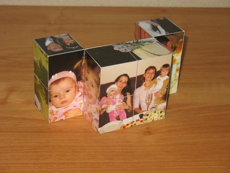 Фото на кубиках своими руками 89