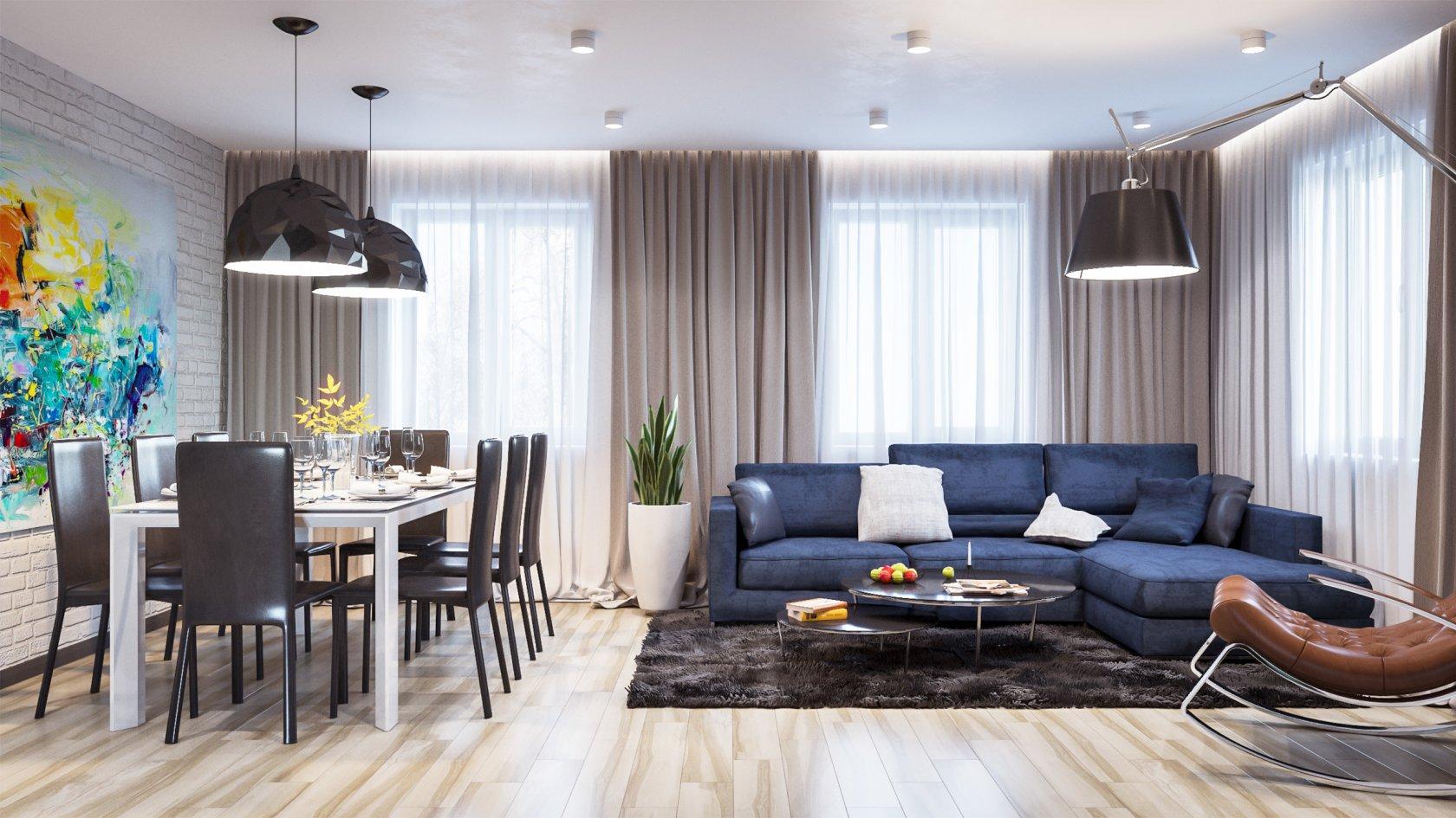 Финский стиль в дизайне квартир