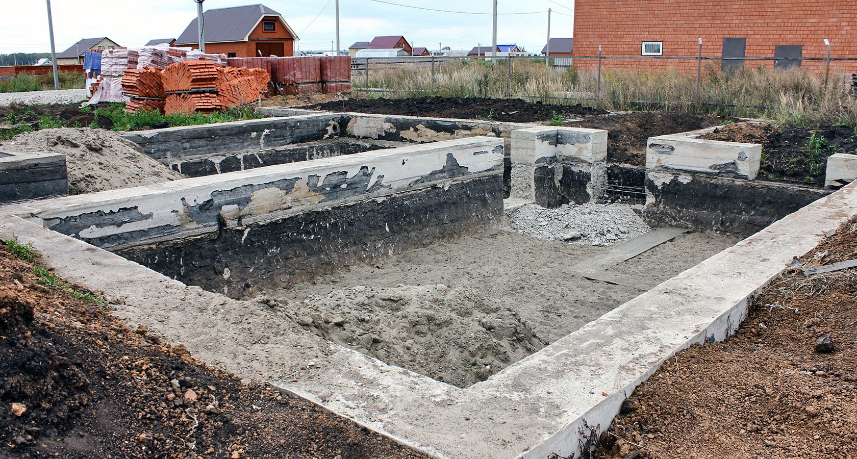 Фундамент своими руками под керамзитобетонные блоки 85