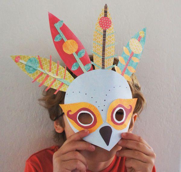 Как сделать маски для детей своими руками