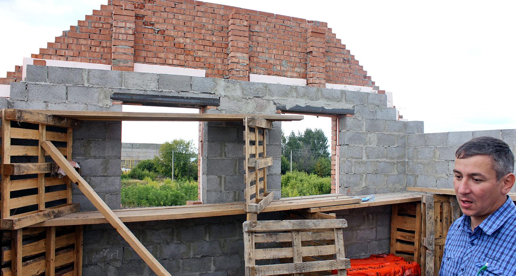 Как построить дом из керамзита своими руками 75