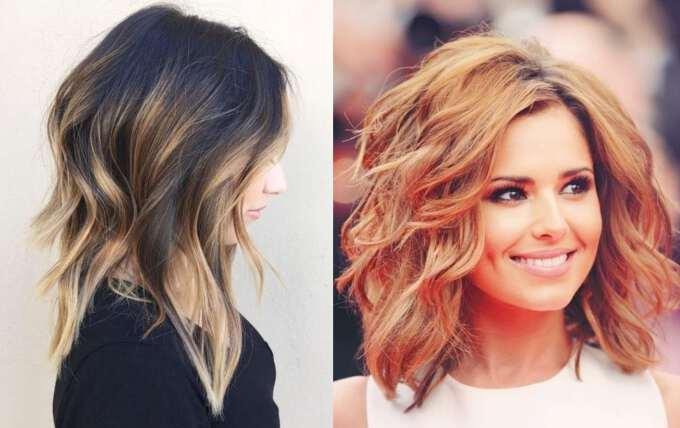 Причёски 2017 года на средние волосы