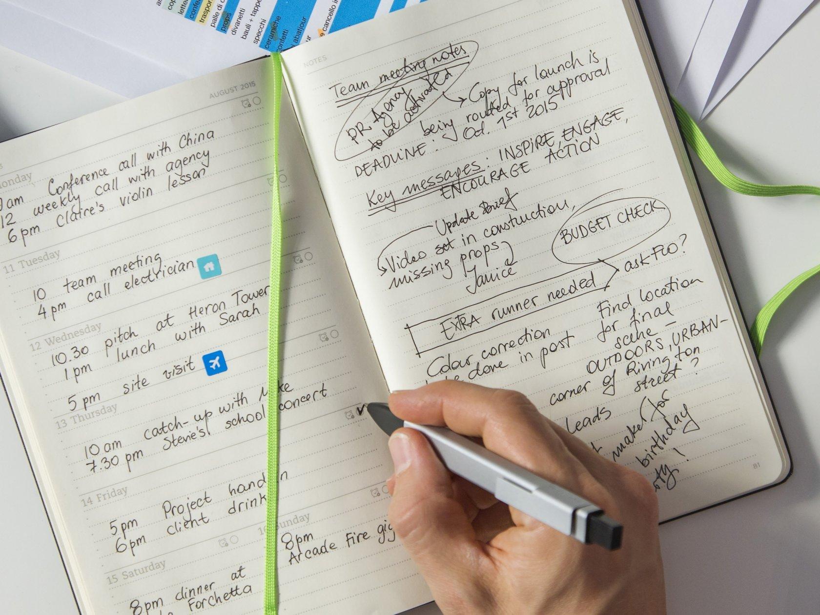 Как правильно сделать записную книжку