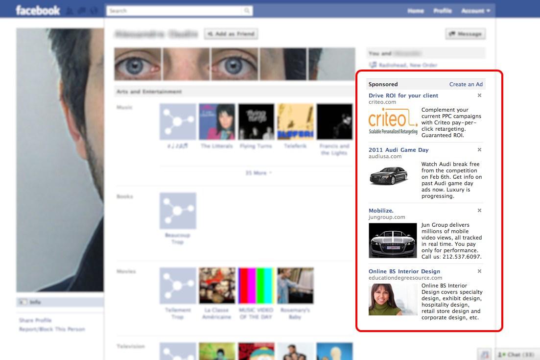 Как в фейсбук сделать друзей невидимыми