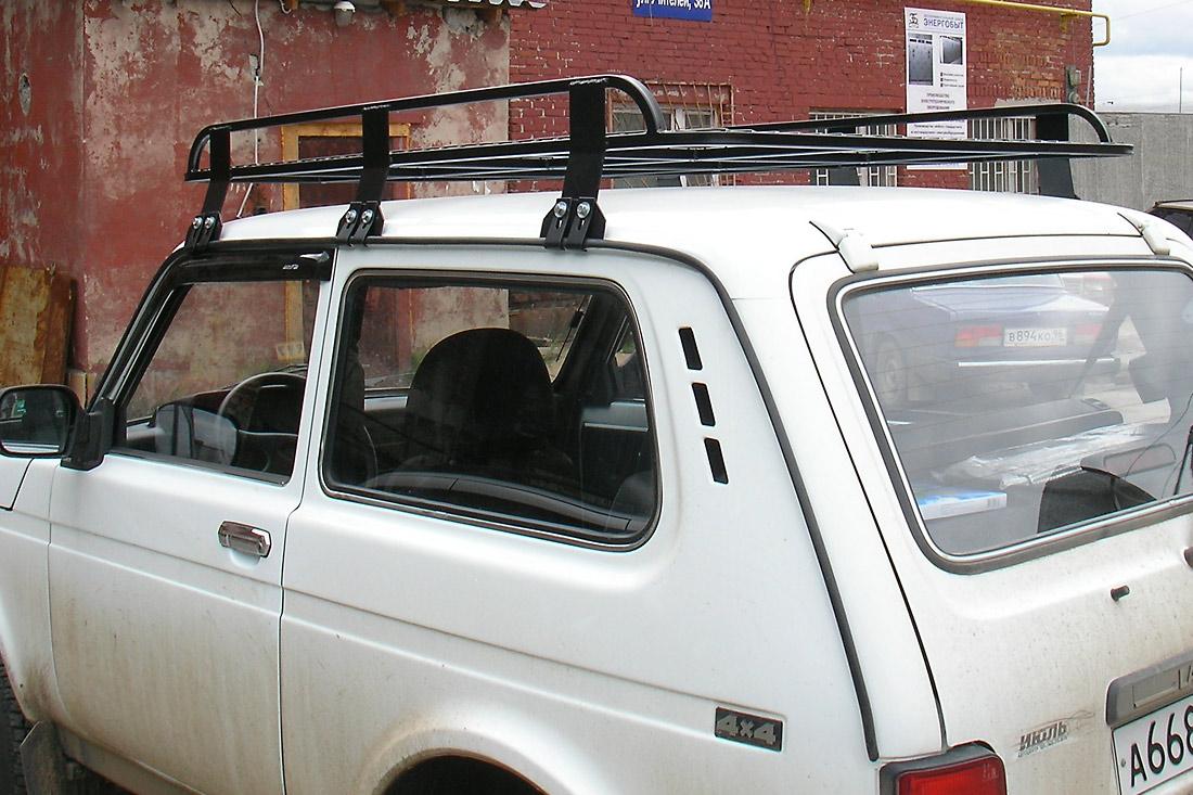 Багажник на крышу джипа своими руками 37