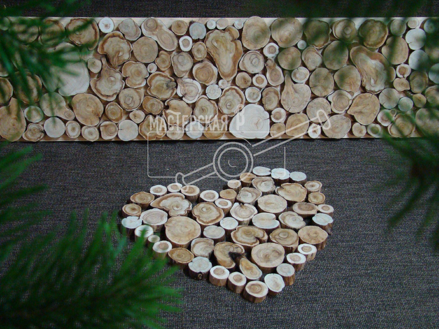 Поделки из спила дерева фото